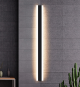 LED Outdoor Linear Wall Light Fixture Black