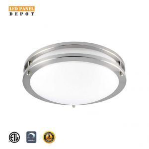 LED 3 CCT Changeable Flushmount Ceiling Fixture 12 Inch